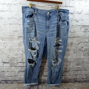 American Eagle Hi Rise Tomgirl Boyfriend Jeans